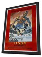 Jason and the Argonauts - 27 x 40 Movie Poster - Style B - in Deluxe Wood Frame