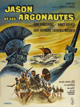 Jason and the Argonauts - 27 x 40 Movie Poster - French Style A