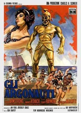 Jason and the Argonauts - 11 x 17 Movie Poster - Italian Style A