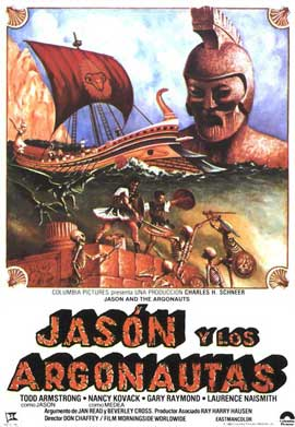 Jason and the Argonauts - 11 x 17 Movie Poster - Spanish Style A