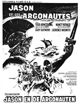 Jason and the Argonauts - 11 x 17 Movie Poster - Belgian Style A