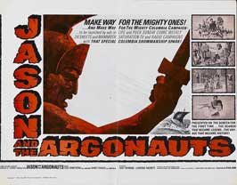 Jason and the Argonauts - 22 x 28 Movie Poster - Half Sheet Style A