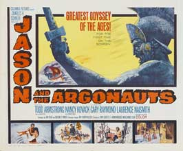 Jason and the Argonauts - 30 x 40 Movie Poster UK - Style A