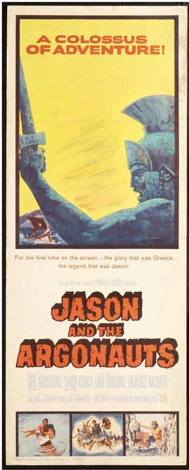 Jason and the Argonauts - 14 x 36 Movie Poster - Insert Style A