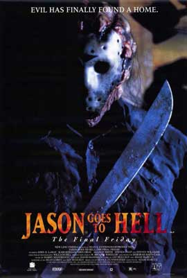 Jason Goes to Hell: The Final Friday - 11 x 17 Movie Poster - Style B