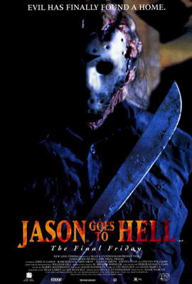 Jason Goes to Hell: The Final Friday - 27 x 40 Movie Poster - Style B