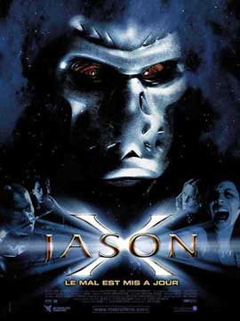 Jason X - 11 x 17 Movie Poster - French Style A