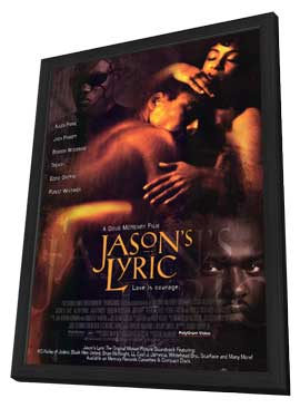 Jason's Lyric - 11 x 17 Movie Poster - Style A - in Deluxe Wood Frame