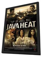 Java Heat - 11 x 17 Movie Poster - Style B - in Deluxe Wood Frame