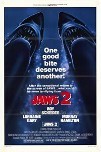 Jaws 2 - 27 x 40 Movie Poster - Style B