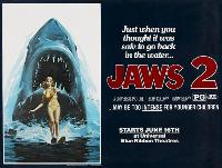 Jaws 2 - 30 x 40 Movie Poster UK - Style A