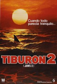 Jaws 2 - 27 x 40 Movie Poster - Spanish Style A