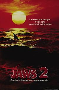 Jaws 2 - 27 x 40 Movie Poster - Style D