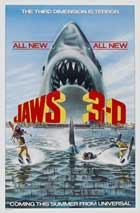 Jaws 3-D - 11 x 17 Movie Poster - Style A