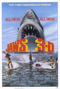 Jaws 3 - 27 x 40 Movie Poster - Style A