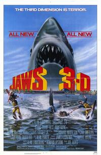 Jaws 3 - 43 x 62 Movie Poster - Bus Shelter Style A