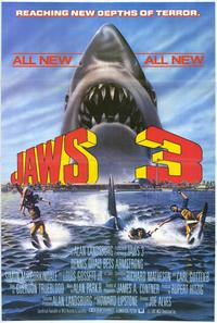 Jaws 3 - 27 x 40 Movie Poster - Style B