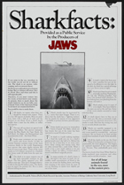 Jaws - 27 x 40 Movie Poster - Style H