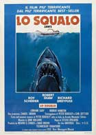 Jaws - 27 x 40 Movie Poster - Italian Style A