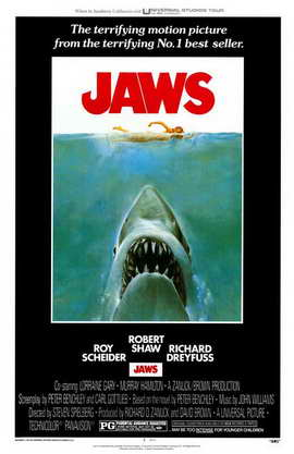 Jaws - 11 x 17 Movie Poster - Style A