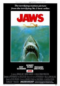 Jaws - 43 x 62 Movie Poster - Bus Shelter Style A