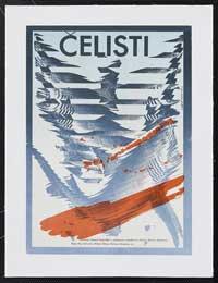 Jaws - 11 x 17 Movie Poster - Czchecoslovakian Style A