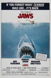 Jaws - 11 x 17 Movie Poster - Style F
