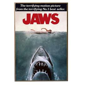 Jaws - Movie Poster Wood Wall Artwork