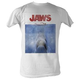 Jaws - Movie Poster White T-Shirt