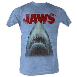 Jaws - Stressed Out Light Blue T-Shirt