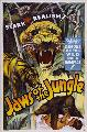 Jaws of the Jungle - 11 x 17 Movie Poster - Style A