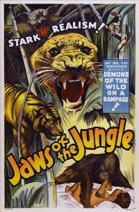 Jaws of the Jungle - 27 x 40 Movie Poster - Style A