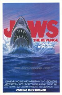 Jaws: The Revenge - 27 x 40 Movie Poster - Style B