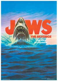 Jaws: The Revenge - 11 x 17 Movie Poster - Style B