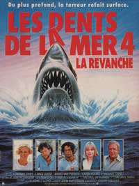 Jaws: The Revenge - 11 x 17 Movie Poster - French Style A