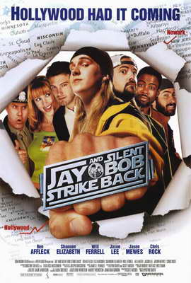 Jay and Silent Bob Strike Back - 27 x 40 Movie Poster - Style A