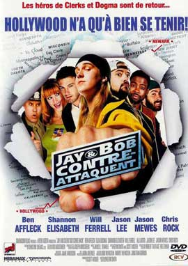 Jay and Silent Bob Strike Back - 11 x 17 Movie Poster - French Style A