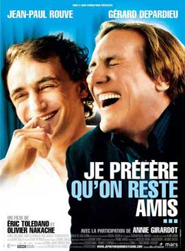 Je pr�f�re qu'on reste amis - 11 x 17 Movie Poster - French Style A