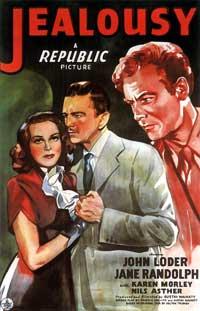 Jealousy - 27 x 40 Movie Poster - Style A