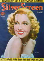 Jean Arthur - 11 x 17 Silver Screen Magazine Cover 1930's Style A