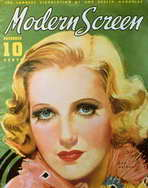 Jean Arthur - 11 x 17 Modern Screen Magazine Cover 1930's Style B