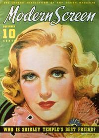 Jean Arthur - 11 x 17 Modern Screen Magazine Cover 1930's Style B