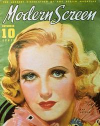 Jean Arthur - 27 x 40 Movie Poster - Modern Screen Magazine Cover 1930's Style B
