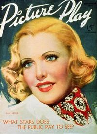 Jean Arthur - 27 x 40 Movie Poster - Picture-Play Magazine Cover 1920's