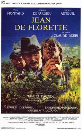 Jean de Florette - 11 x 17 Movie Poster - Italian Style A