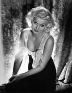 Jean Harlow - Jean Harlow Portrait in Strap Dress