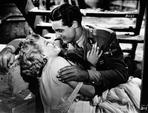 Jean Harlow - Jean Harlow Couple Shot Kissing Scene from a Film