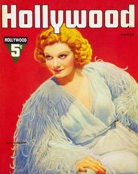 Jean Harlow - 11 x 17 Hollywood Magazine Cover 1930's Style A
