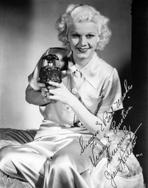Jean Harlow - Jean Harlow Portrait in White Silk Shirt