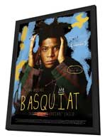 Jean-Michel Basquiat: The Radiant Child - 11 x 17 Movie Poster - French Style A - in Deluxe Wood Frame